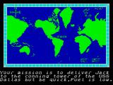 The Hunt for Red October ZX Spectrum Mission briefing