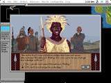 Sid Meier's Civilization Macintosh Meeting with the Zulus