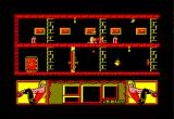 Mata Hari Amstrad CPC Doggy-style pose allows you to avoid the flying droids...