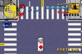 Grand Theft Auto Advance Game Boy Advance Paramedic mission. You must drive the patients to the hospital.