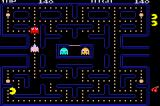 Namco Museum: 50th Anniversary Game Boy Advance Pac-Man - First level.
