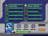 Mega Man X4 Windows Item screen for X