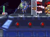 Mega Man X4 Windows Zero in a Flying Machine.