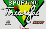 Sporting Triangles Atari ST Title screen
