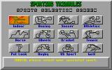 Sporting Triangles Atari ST Choose your specialist area