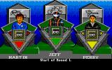 Sporting Triangles Atari ST Reflected in player appearances once the game starts