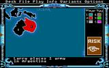 The Computer Edition of Risk: The World Conquest Game Atari ST Choosing the first locations