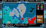 The Computer Edition of Risk: The World Conquest Game Atari ST Adding armies to them