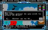 The Computer Edition of Risk: The World Conquest Game Atari ST Make sure to shore up bordered lands