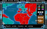 The Computer Edition of Risk: The World Conquest Game Atari ST There isn't always a winner