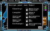 The Computer Edition of Risk: The World Conquest Game Atari ST Customization options