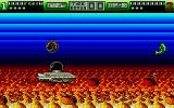 Tower Toppler Atari ST Fishing between towers