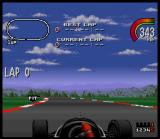 Newman/Haas IndyCar featuring Nigel Mansell SNES Ovals aren't as easy as one could suspect: a single error can cost half a second