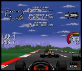 Newman/Haas IndyCar featuring Nigel Mansell SNES It's better to avoid collisions in simulation...