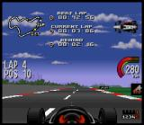 Newman/Haas IndyCar featuring Nigel Mansell SNES ... or the car might suffer damage from collisions, indicated by a red outline in the car on the hud