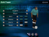 Microsoft International Soccer 2000 Windows You can create up to 7 custom teams.