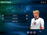 Microsoft International Soccer 2000 Windows The game doesn't include real players, but it allows you to edit their names and looks.