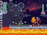 Mega Man X4 Windows X uses Double Cyclone