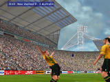 Microsoft International Soccer 2000 Windows You can pick the way your players celebrate after scoring a goal.