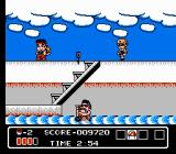Hammerin' Harry NES On a ship