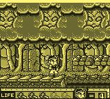 Hammerin' Harry: Ghost Building Company Game Boy Walking through the jungle