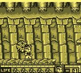 Hammerin' Harry: Ghost Building Company Game Boy Inside a temple