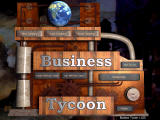 Business Tycoon Windows Main menu.