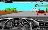 The Duel: Test Drive II DOS Advertisement for Grand Prix Circuit (EGA)
