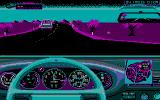 The Duel: Test Drive II DOS Shifting up (CGA)