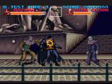 Batman Returns SNES Fighting on the streets of Gotham