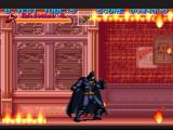 Batman Returns SNES Be careful not to step into the fire