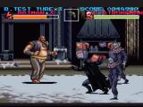 Batman Returns SNES Battle against the strong guy. Boy, is he tough...