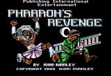 Pharaoh's Revenge Apple II Title screen.