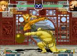 The King of Fighters 2002: Challenge to Ultimate Battle Neo Geo Could Ryo Sakazaki's Blow Away Attack be able to end Chang Koehan's Tekkyuu Funsai Geki?
