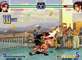 The King of Fighters 2002: Challenge to Ultimate Battle Neo Geo Athena Asamiya's SDM Psychic 9 first ending: a single student costume (Sailor Finish).