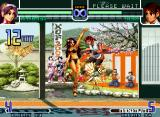 The King of Fighters 2002: Challenge to Ultimate Battle Neo Geo Athena Asamiya's SDM Psychic 9 third and last ending: only using underwears (Psycho Sword Finish).
