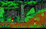 Hugo III: Jungle of Doom DOS Penolope is hurt..