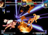 The King of Fighters 2002: Challenge to Ultimate Battle Neo Geo After be finished her HSDM in Leona, Mai uses her DM Hana Arashi.: it's only to finish with style!