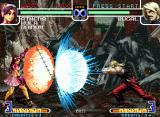 The King of Fighters 2002: Challenge to Ultimate Battle Neo Geo Athena Asamiya uses her Psycho Reflector with a goal: change Rugal Bernstein's Kaiser Wave route...