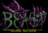 Shadow of the Beast Genesis Title screen (Japanese version)