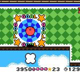 Kirby Tilt 'n' Tumble Game Boy Color Goal!