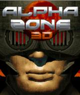 Alpha Zone 3D J2ME Title screen