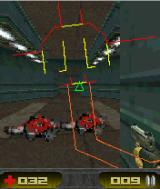 Alpha Zone 3D J2ME The map appears as an overlay