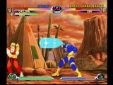 Marvel vs. Capcom 2 Dreamcast Ryu-do-ken this! Cyclops lets loose with an optic blast.
