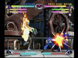 Marvel vs. Capcom 2 Dreamcast Be my Valentine! Jill Valentine relies on some of her 'friends' from the Resident Evil series in her battle against Psylocke.
