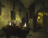 Call of Cthulhu: Dark Corners of the Earth Windows Hidden chamber beneath the church.