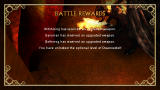 The Lord of the Rings: Tactics PSP Battle rewards screen