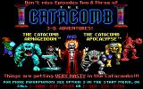 The Catacomb Abyss DOS Shareware notice