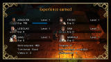 The Lord of the Rings: Tactics PSP Experience earned screen