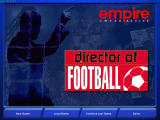 Director of Football Windows Title screen